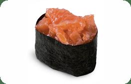 Норвежский лосось, спайси соус.